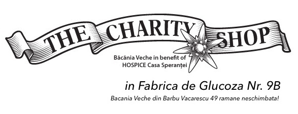 Bacania Veche The Charity Shop logo