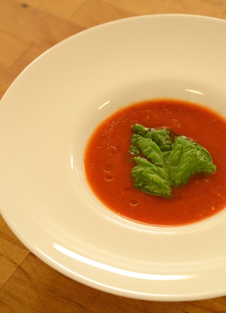 supa crema de rosii coapte