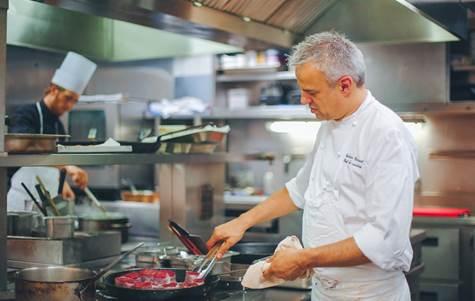 Chef Fabrice Giraud