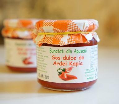 Sos dulce de ardei Kapia Bunatati din Apuseni