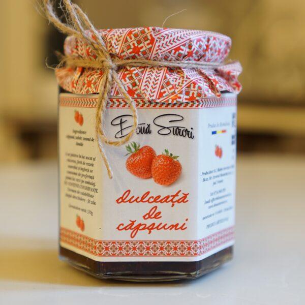 dulceata de capsuni doua surori
