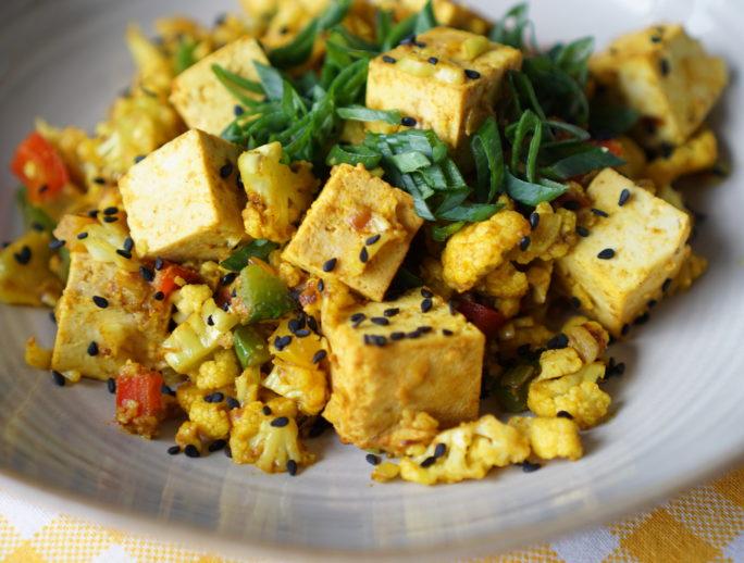 conopida picanta cu tofu afumat