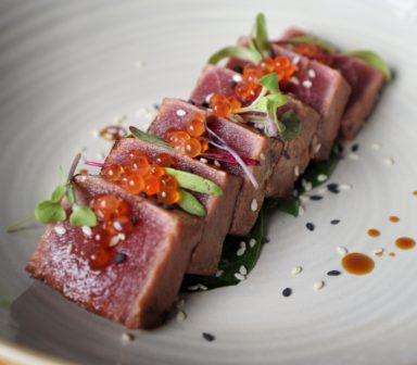 Tataki de ton rosu